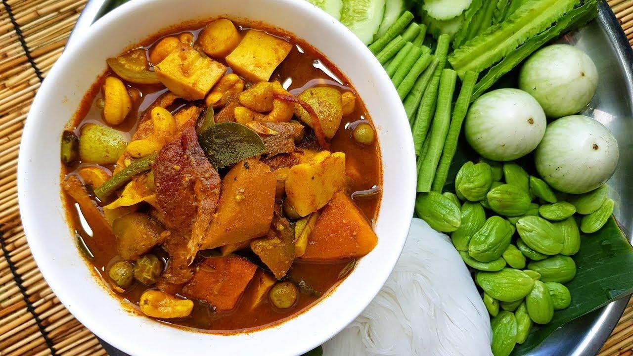 กับข้าวกับปลาโอ 263 : แกงไตปลาสูตรเข้มข้น ขนมจีน ผักเหนาะ