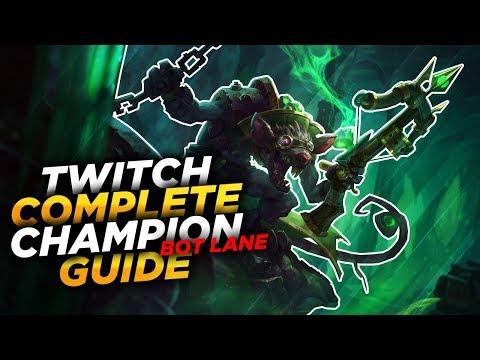 Twitch: THE PLAGUE RAT - League of Legends Champion Guide [SEASON 7]