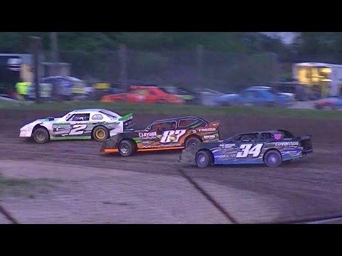 Street Stock Feature | Genesee Speedway | 5-21-16