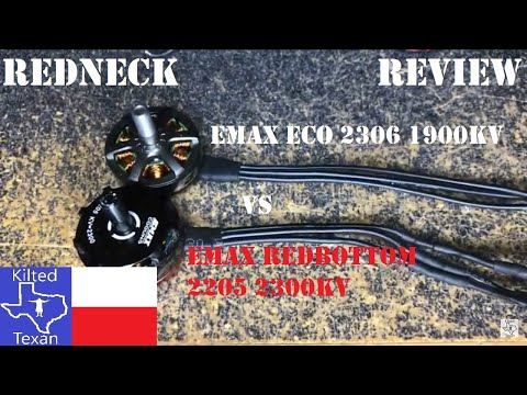 Фото Redneck Review - EMAX ECO 2306 1900kv from
