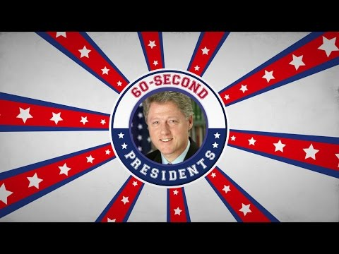 Bill Clinton | 60-Second Presidents | PBS