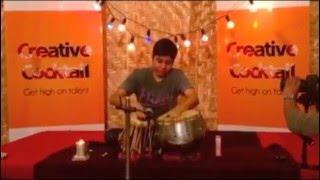 Anchal Talesara Tabla solo recital Creative Cocktail 10, The Hive, Mumbai