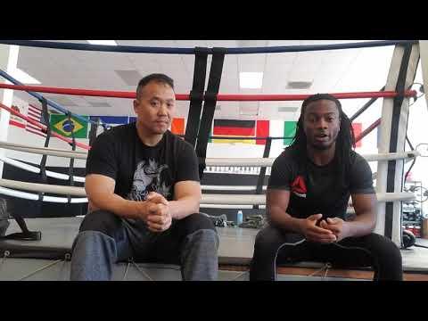URCC/Dragon House Vance Thompson Pre fight interview