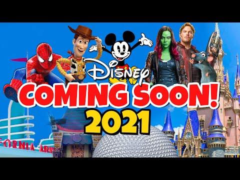 Top 10 New Disney Rides & Attractions Coming in 2021 - Disney World & Disneyland