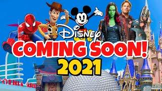 Top 10 New Disney Rides & Attractions Coming in 2021  Disney World & Disneyland