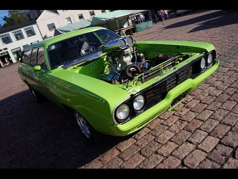 2nd LOOK @ the Custom LIME Plymouth Satellite 440 Wagon