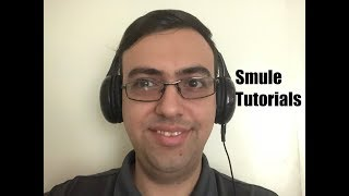 Justin Blvd. Tutorials:  What to do before saving a Smule recording