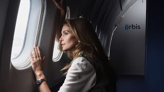 "The Hospital in the Sky – an OMEGA film with Cindy Crawford(http://omegawatches.com/Orbis Documenting the work of Orbis International, OMEGA proudly presents ""The Hospital in the Sky"". Filmed over two weeks, the ..., 2015-10-08T06:34:38.000Z)"