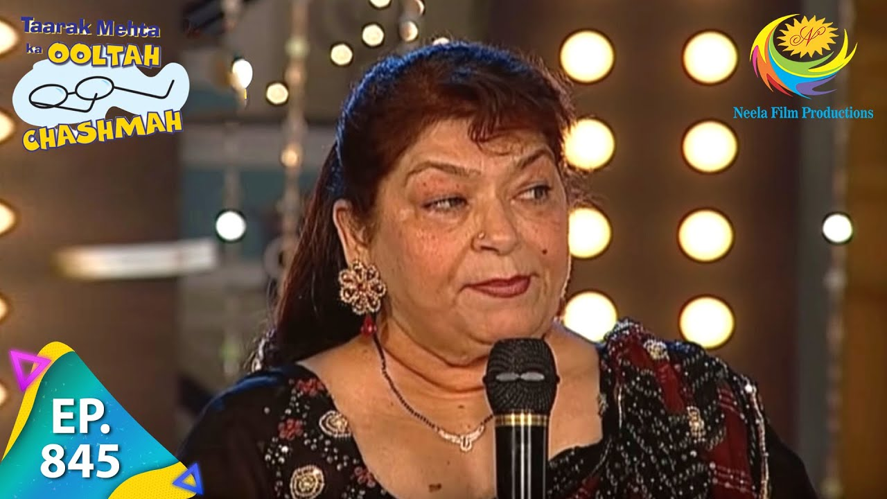 Download Taarak Mehta Ka Ooltah Chashmah - Episode 845 - Full Episode