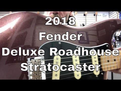 2018 Fender Deluxe Roadhouse Stratocaster