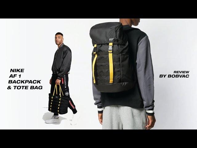 Nike AF-1 Backpack \u0026 Tote Bag [Review