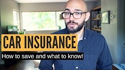 How to save on car insurance & What to know!