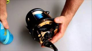 How to Clean and Service your Game Reels | The Hook and The Cook