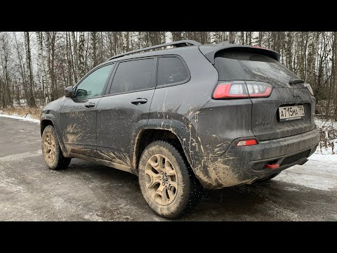 Взял Jeep Cherokee Trailhawk - теперь с V6 на трассе!