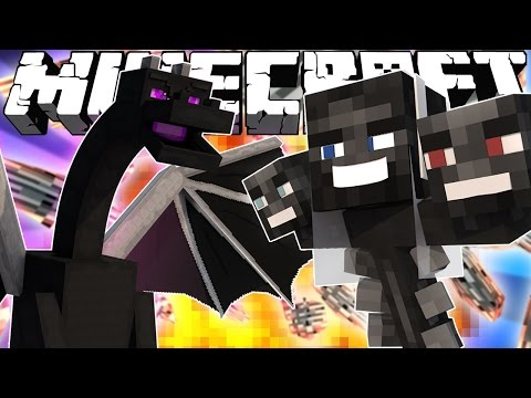 Thumbnail: If the Ender Dragon and Wither Got Married - Minecraft