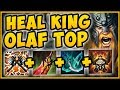 NEW HEAL KING OLAF TOP 100 OUTHEAL ALL DMG TAKEN OLAF SEASON 9 TOP GAMEPLAY League Of Legends mp3