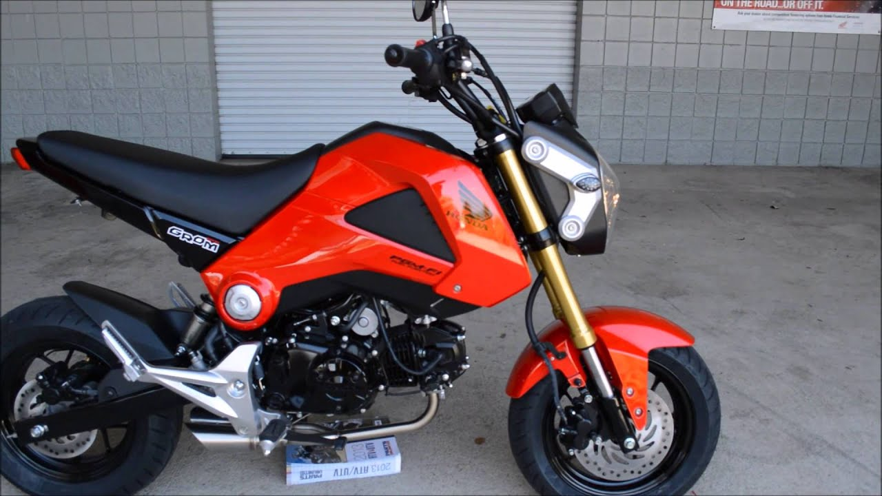 2014 Honda Grom For Sale / Exhaust + More! TN GA AL Motorcycle Dealer    YouTube
