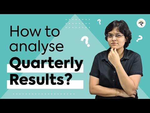 How to analyse Quarterly Results? by CA Rachana Ranade