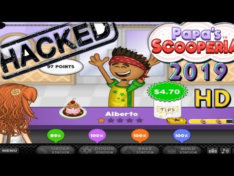 Papa&#;s Scooperia Hacked | | Online Hack No Software | | New  | | HD GAMEPLAY TILL DAY  | |