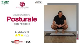 Posturale - Livello 3 - 2  (Live)