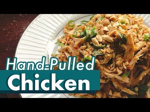 Hand-pulled Chicken   Shredded Chicken   Cold Dishes For Summer