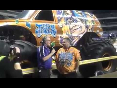 Monster Jam Las Vegas >> Jester Monster Truck San Antonio Driver Interview 2015 ...