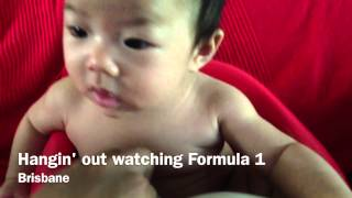 Watching Melbourne F1 with Daddy & Uncle Ut Thumbnail