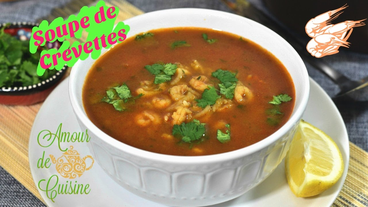 Soupe De Crevettes Chorba Qamroune Recette Facile Pour Ramdan
