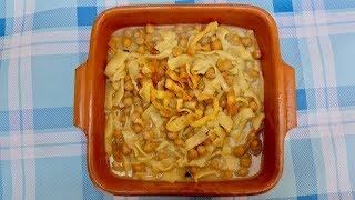Pasta Grannies cook chickpeas with crunchy tagliatelle 'ciceri e tria'