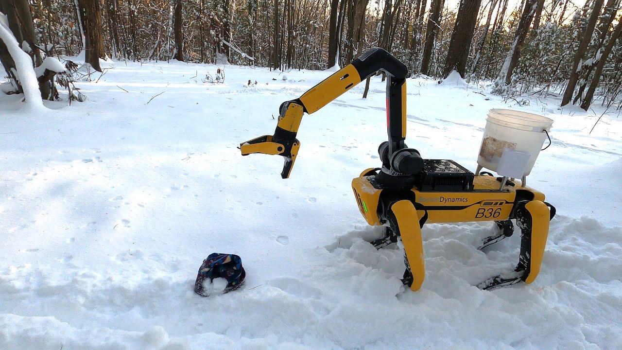 Boston Dynamics обновила робота Spot. Что он теперь умеет?