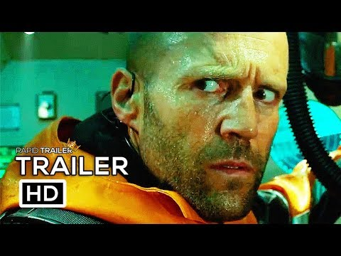 THE MEG   2018 Jason Statham Shark Horror Movie HD