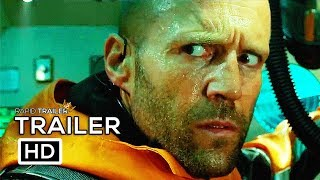 THE MEG Official Trailer 2018 Jason Statham Shark Horror Movie HD