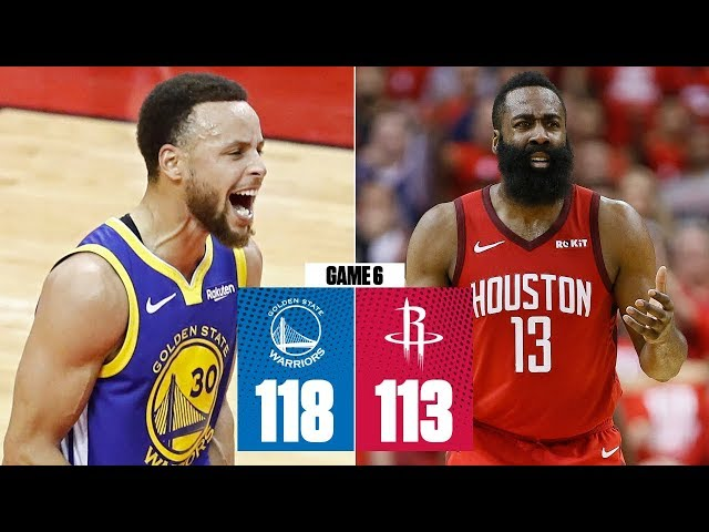 Steph Curry has epic second half as Warriors eliminate Rockets | 2019 NBA Playoff Highlights