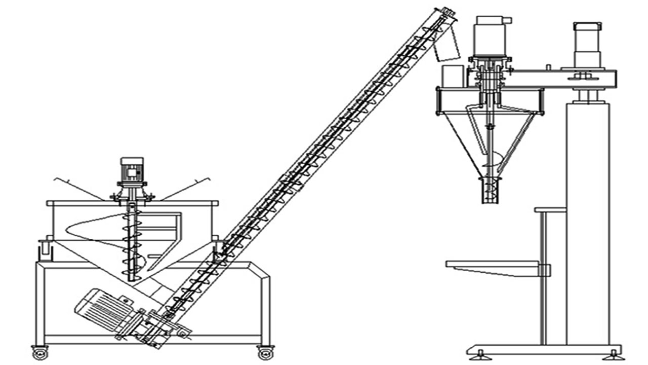 powder filling machines the instruction video of how to