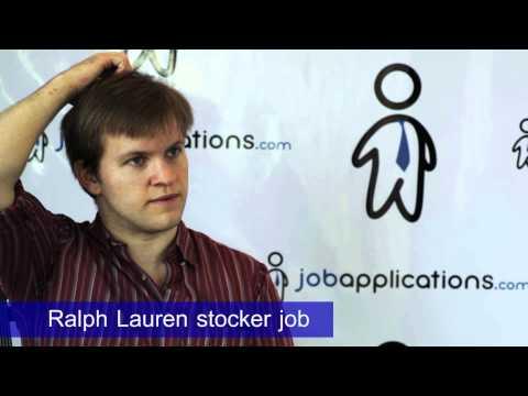 Ralph Lauren Interview - Stocker