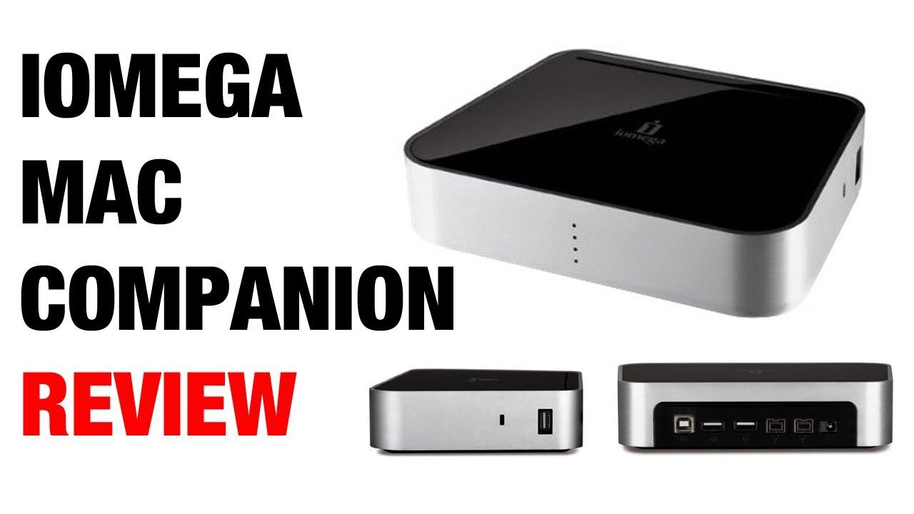 iomega mac companion hard drive review