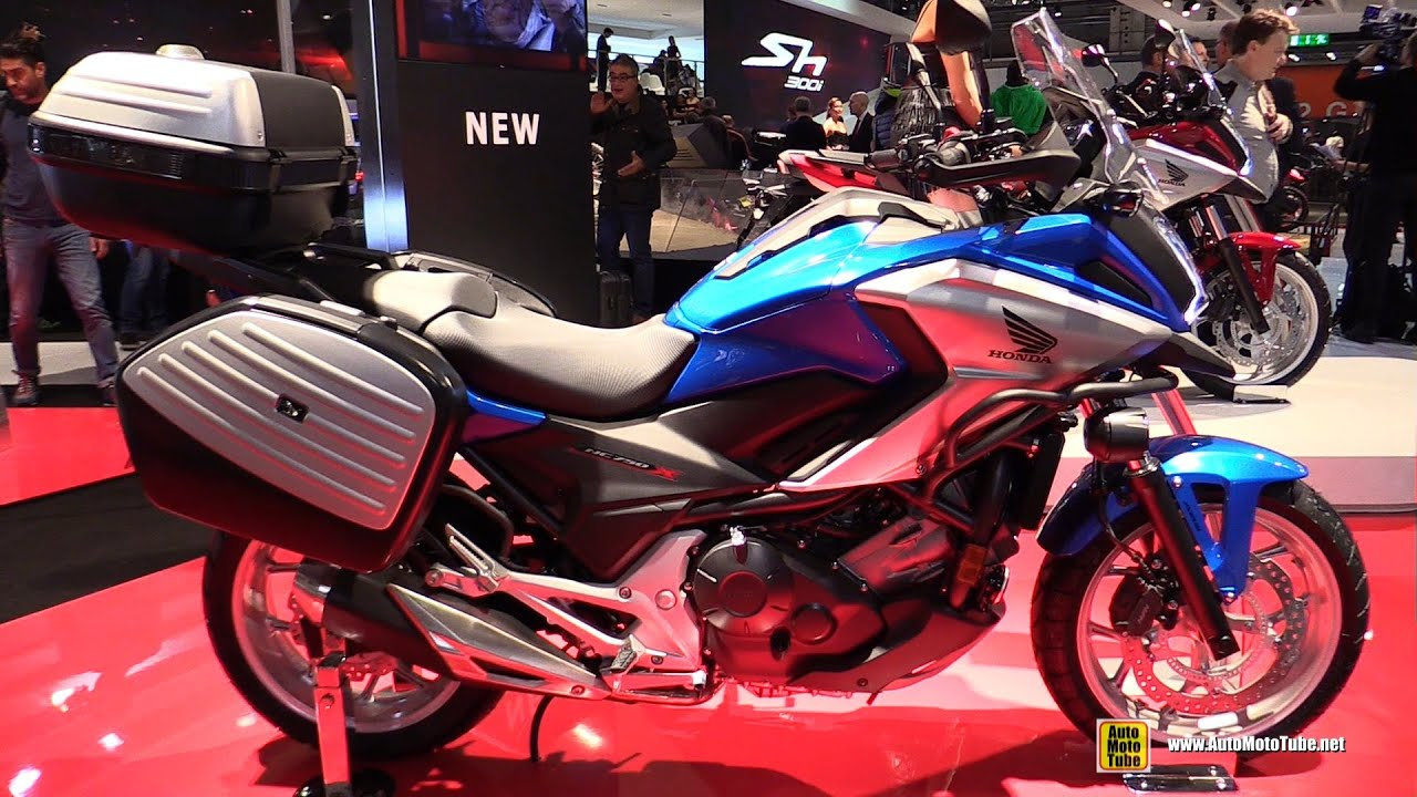 2016 honda nc750x dct travel edition walkaround debut at 2015 eicma milan youtube