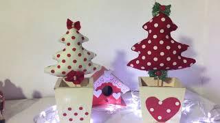 Árvore de Natal de Tecido