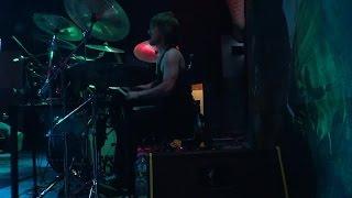 CANNIBE live drummer cam 2.upload mart_tp @ purulent death fest /circolo svolta/rozzano 21.03.15