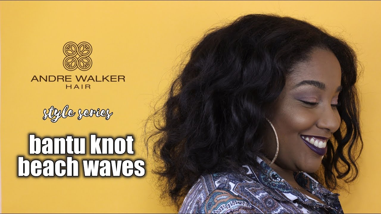 Easy Beach Waves On Natural Hair Andre Walker Hair Style Series