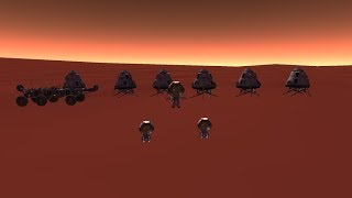 Mars One Mission in KSP