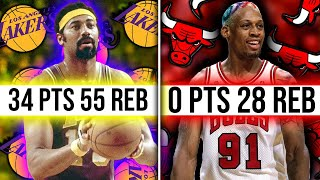The Craziest NBA Stat Lines of All Time
