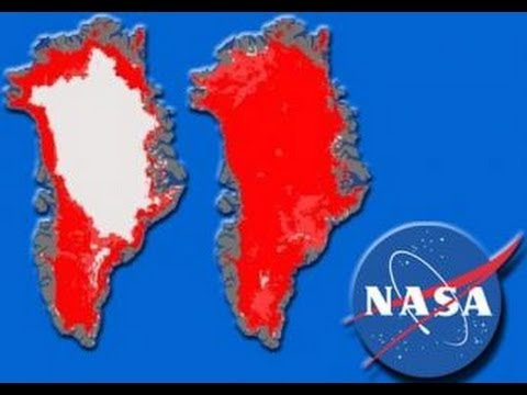 GLOBAL Breaking News: GREENLAND'S ICE SHEET MELTS 97 PERCENT IN 4 DAYS! NASA SCIENTISTS REPORT 2012