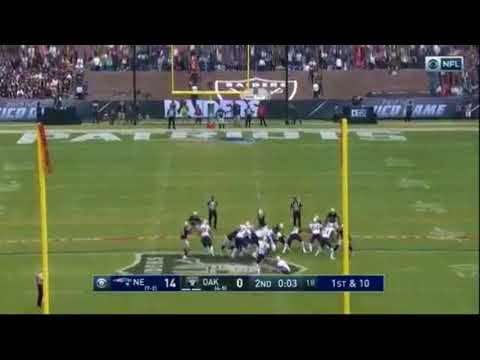 Stephen Gostkowski 62-Yard Field Goal in Mexico City! | Patriots vs. Raiders | NFL