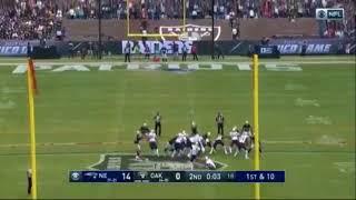Stephen Gostkowski 62-Yard Field Goal in Mexico City! | Patriots vs. Raiders | NFL