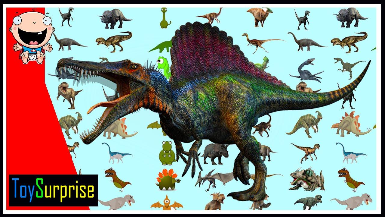 100 dinosaurios! Los números del 1 al 100 en español para niños ...