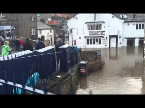 Bingley flash flood 26/12/2015