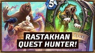 Rastakhan Quest Hunter! | Rastakhan's Rumble | Hearthstone