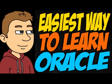 Easiest Way To Learn Oracle Youtube