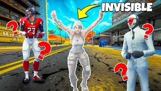 *INVISIBLE GLITCH* Hide N Seek In Fortnite! (cheating...)